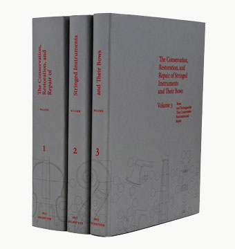 Photograph of the three volumes.